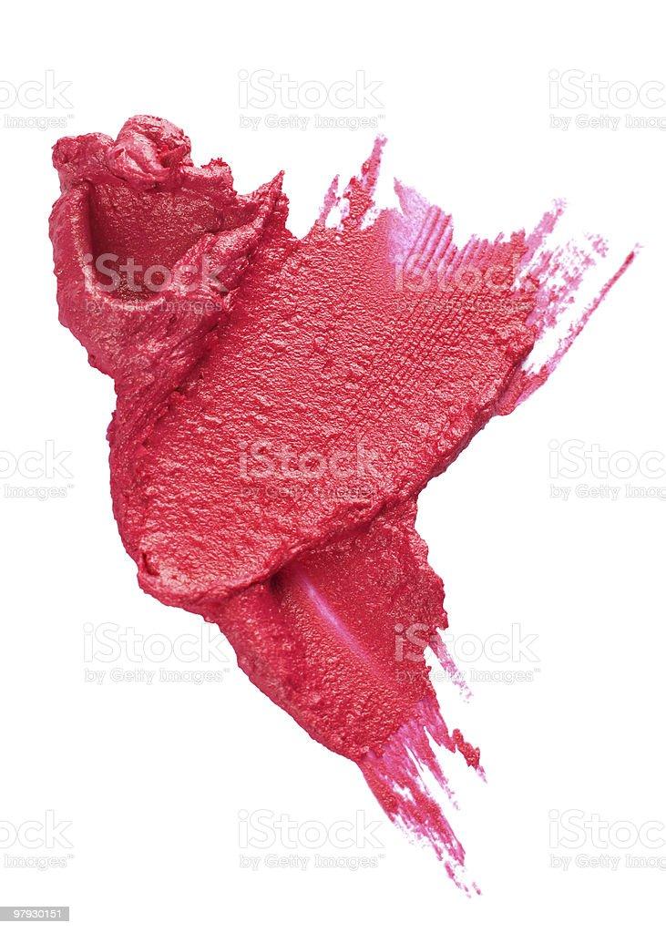 Cosmetic blot royalty-free stock photo