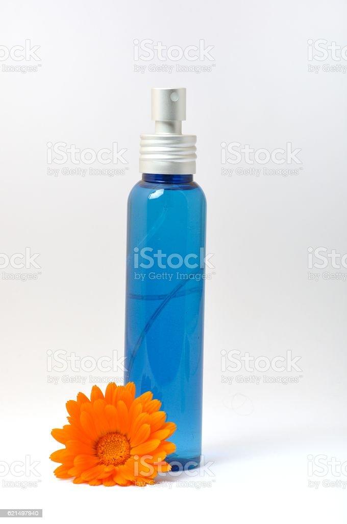 Trousse de maquillage en bouteille  photo libre de droits
