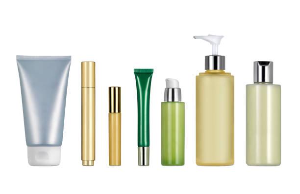 conteneurs de maquillage - maquillage et cosmétiques photos et images de collection