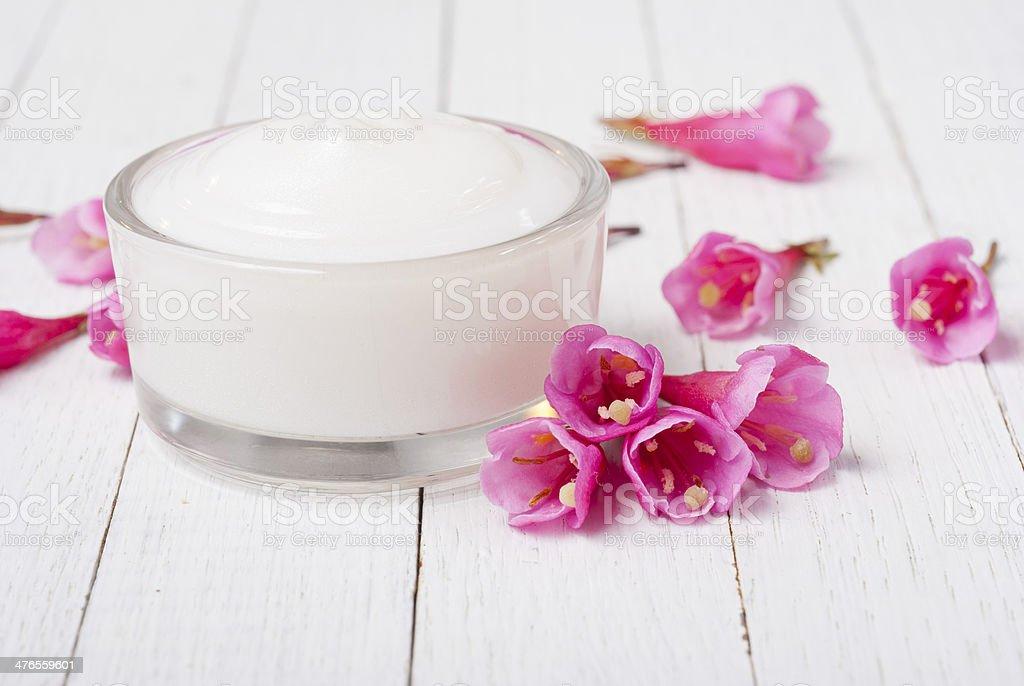 Cosmetic cream royalty-free stock photo