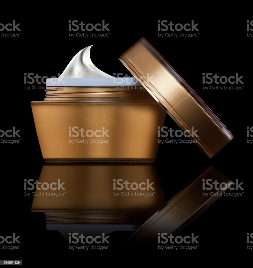 cosmetic cream stock photo