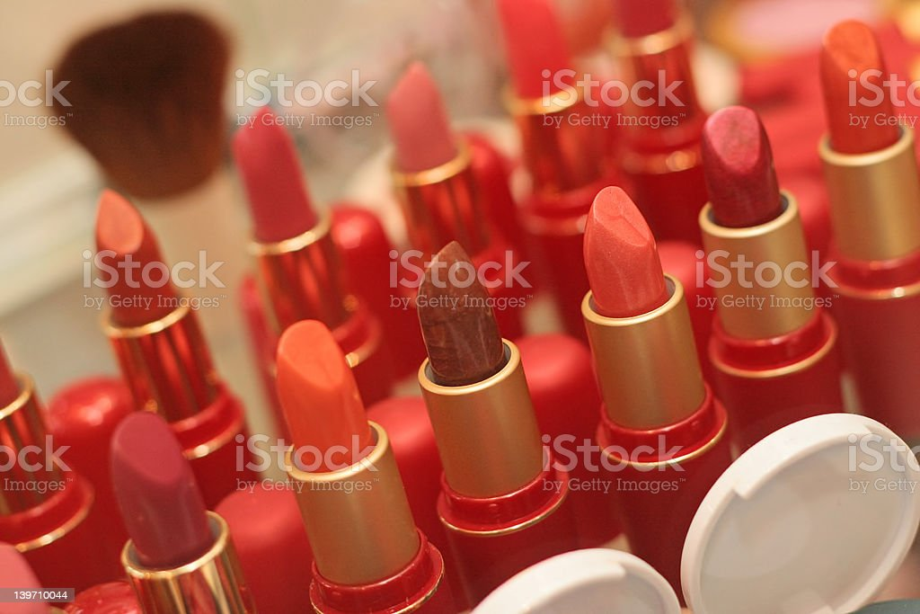 Cosmetic for women royalty-free stock photo