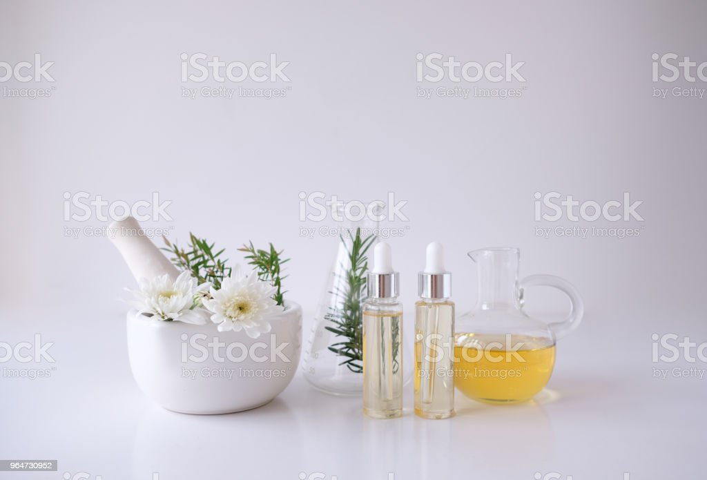 cosmetic nature skincare and essential oil aromatherapy .organic natural science beauty product .herbal alternative medicine . mock up. royalty-free stock photo