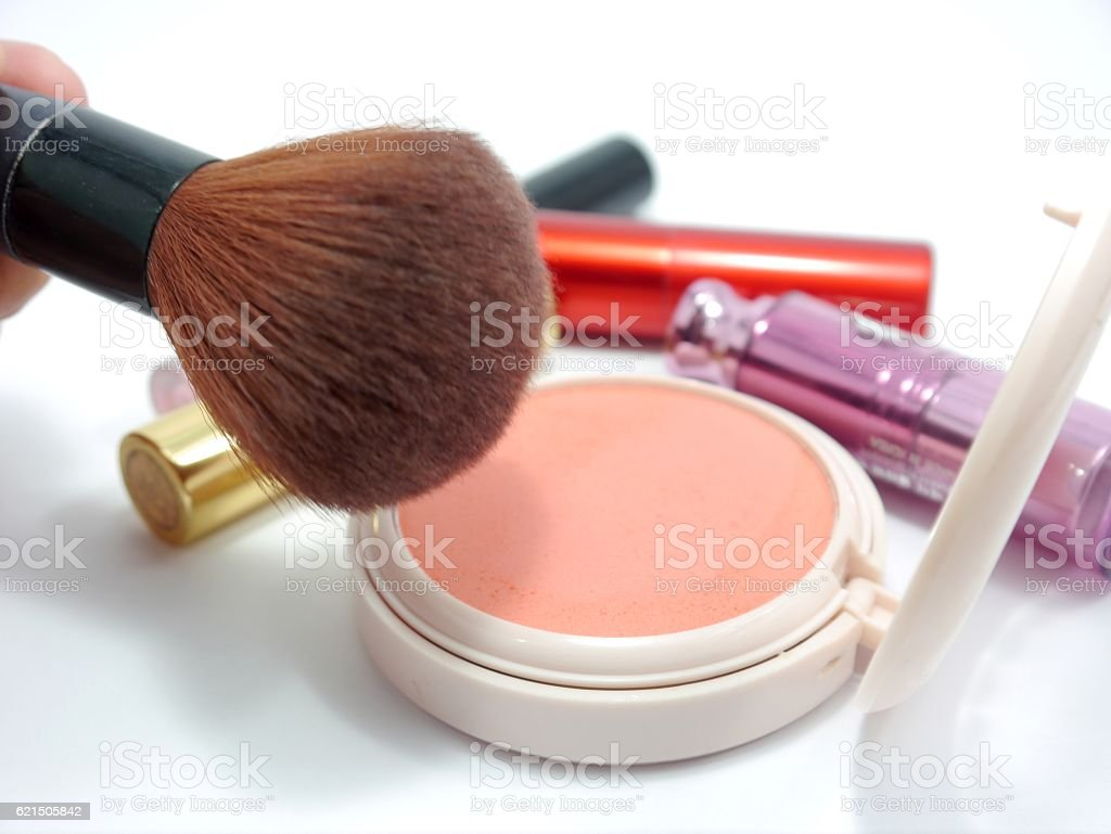 Porta cosmetici foto stock royalty-free