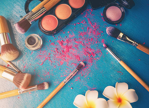cosmetic - make up stock photos and pictures