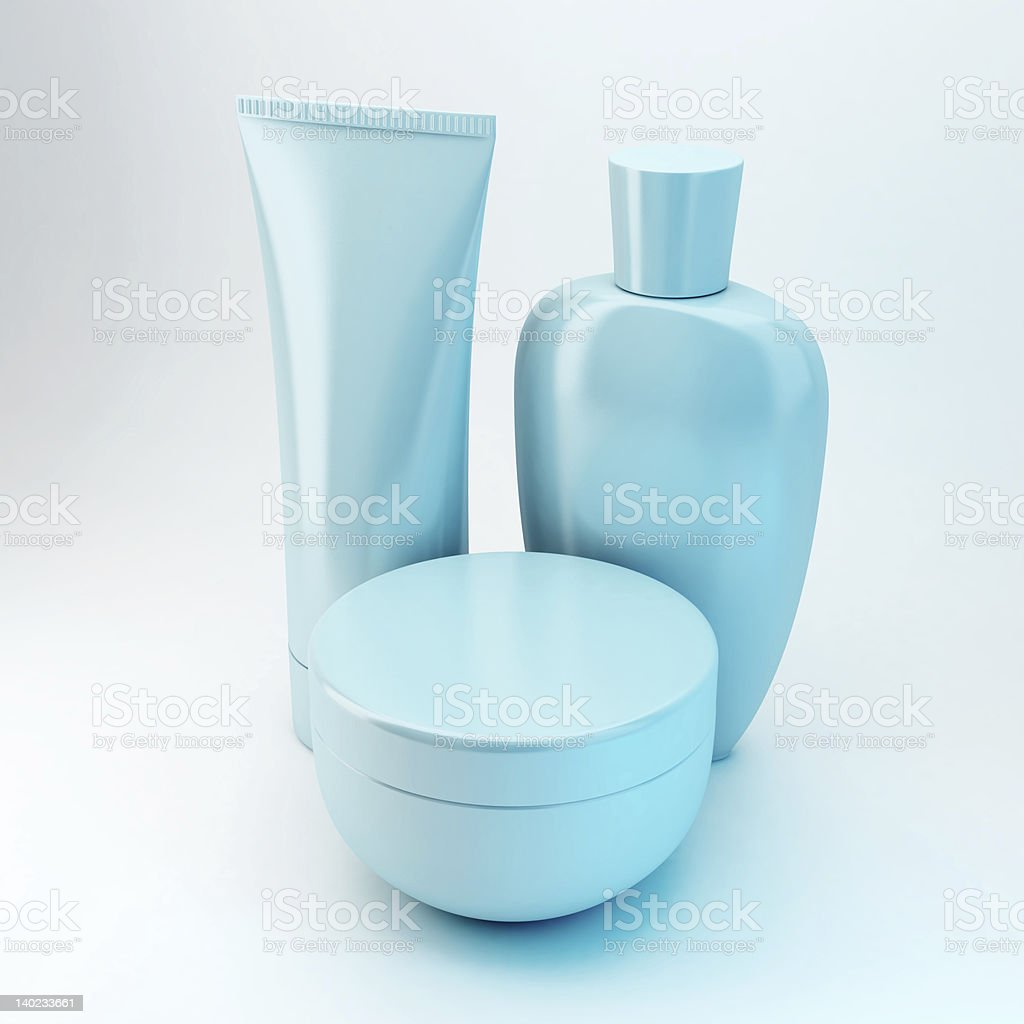 Cosmetic Products 6 stock photo