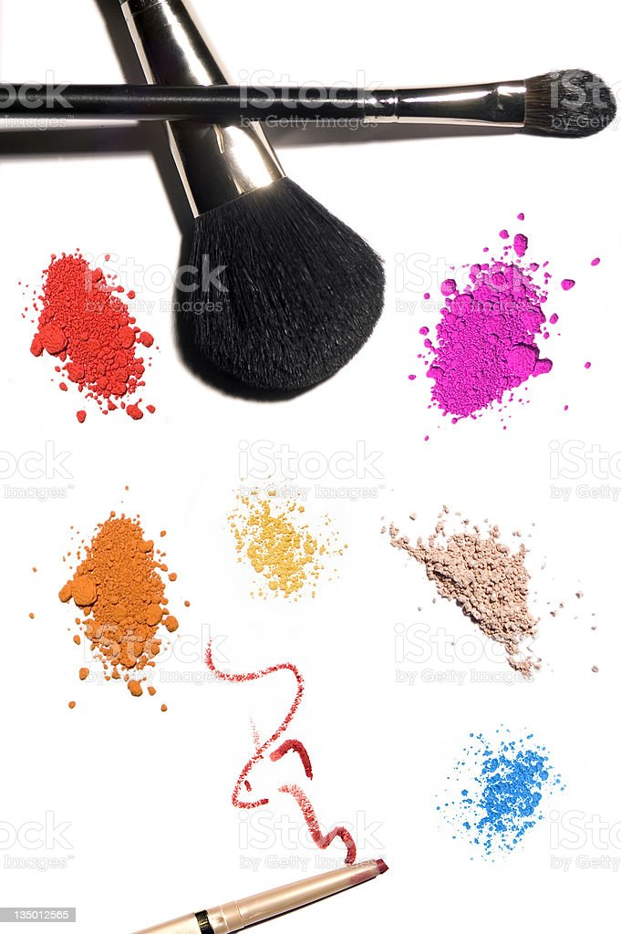Cosmetic Products royalty-free stock photo