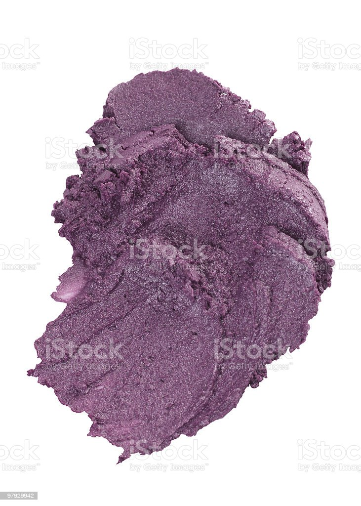 Cosmetic puple blot royalty-free stock photo