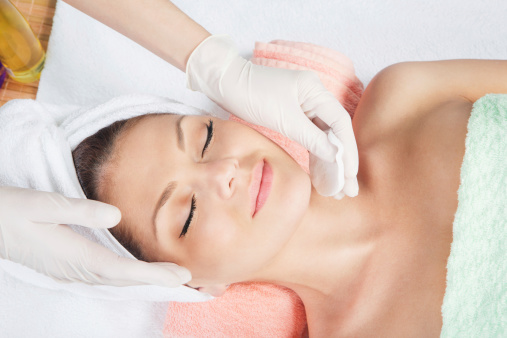 istock cosmetic treatment at spa salon 157596721