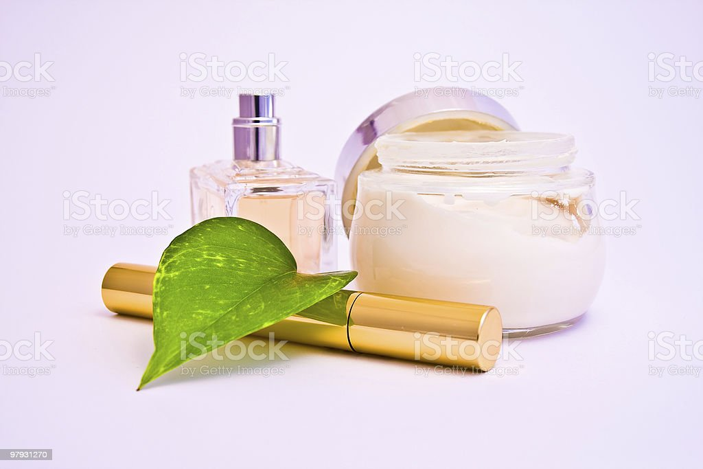 cosmetics and makeup setting royalty-free stock photo