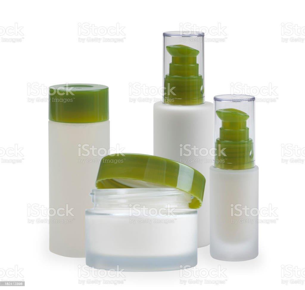 Cosmetics arrangement royalty-free stock photo