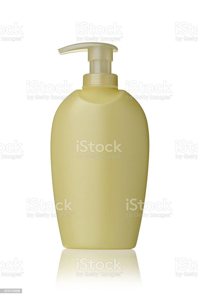 Cosmetics bottle royalty-free stock photo
