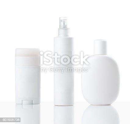 istock Cosmetics bottles 607605708