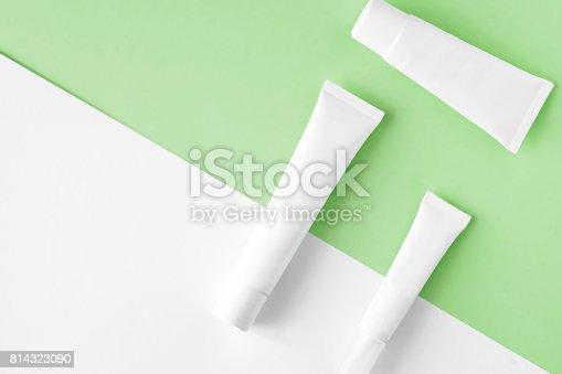 istock SPA cosmetics branding mock up 814323090