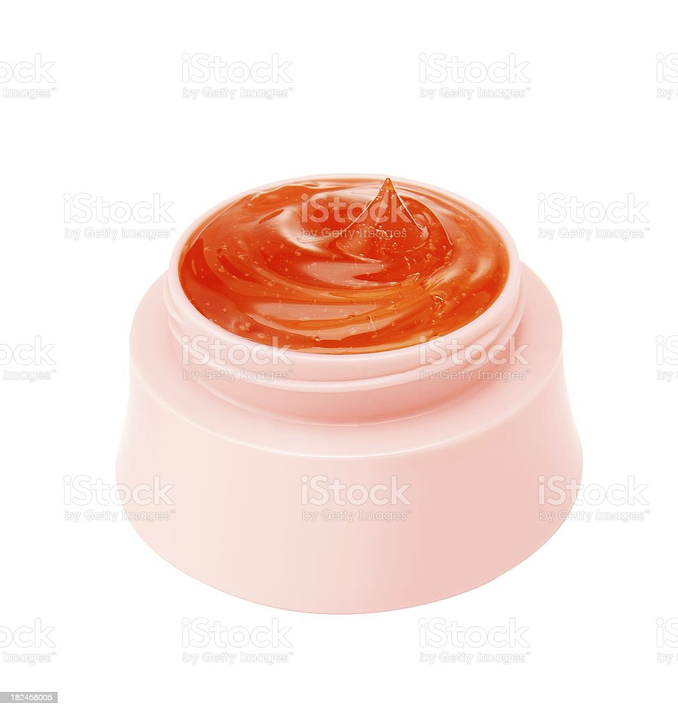 Productos cosméticos Gel foto de stock libre de derechos