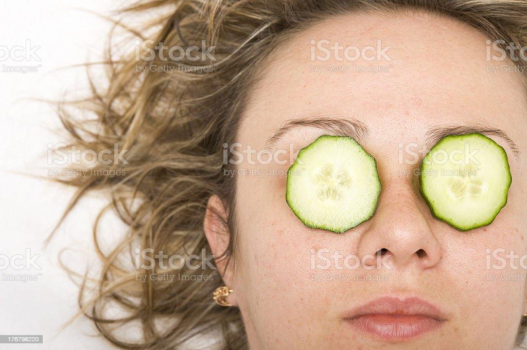 Cosmetics mask royalty-free stock photo