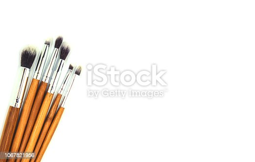 1067822062 istock photo Cosmetics on a white background. Isolate. Selective focus. 1067821956