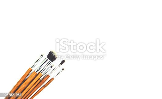 1067822112 istock photo Cosmetics on a white background. Isolate. Selective focus. 1067821964