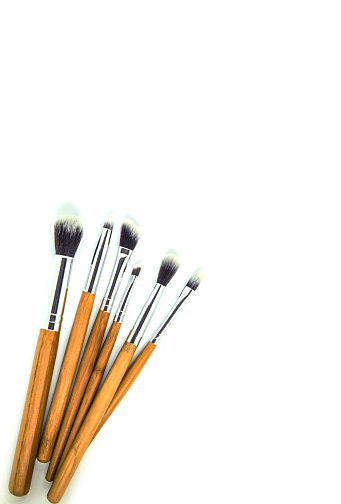 istock Cosmetics on a white background. Isolate. Selective focus. 1067822046