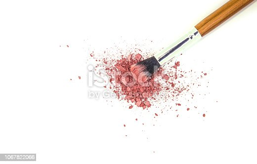 1067822062 istock photo Cosmetics on a white background. Isolate. Selective focus. 1067822066