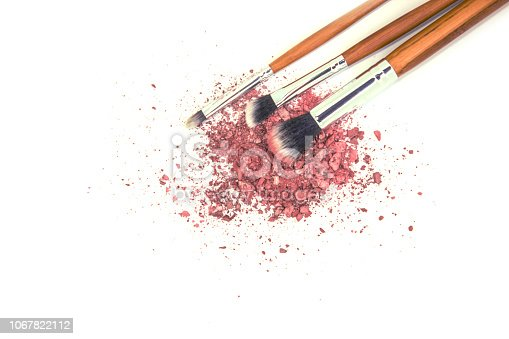 1067822062 istock photo Cosmetics on a white background. Isolate. Selective focus. 1067822112