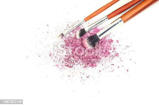 1067822062 istock photo Cosmetics on a white background. Isolate. Selective focus. 1067822140