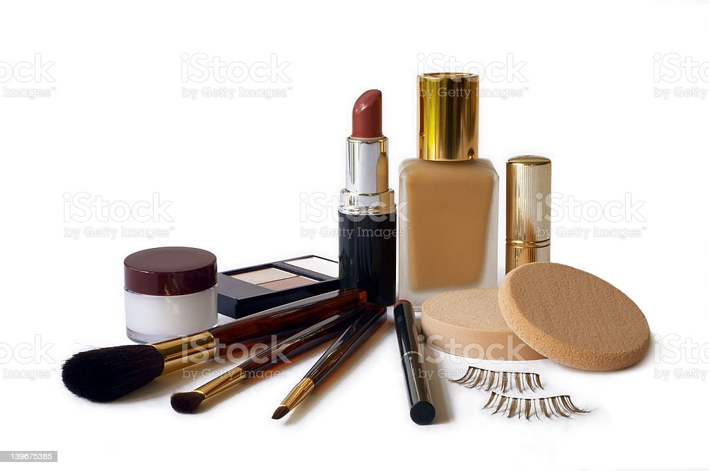 Cosmetics (Horizontal Format) royalty-free stock photo