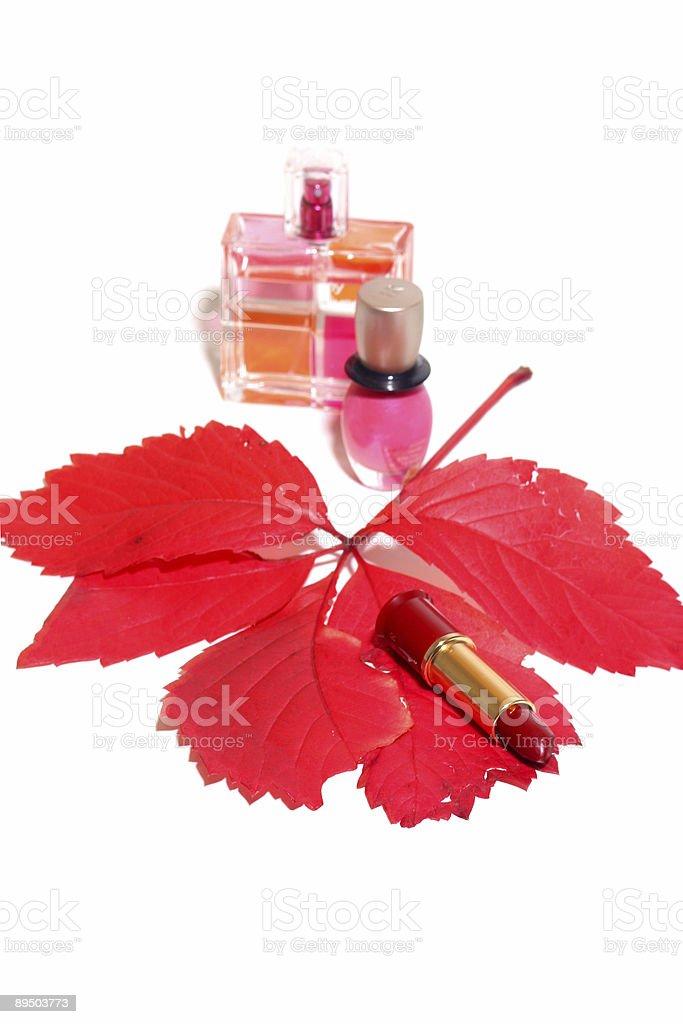 Productos cosméticos foto de stock libre de derechos