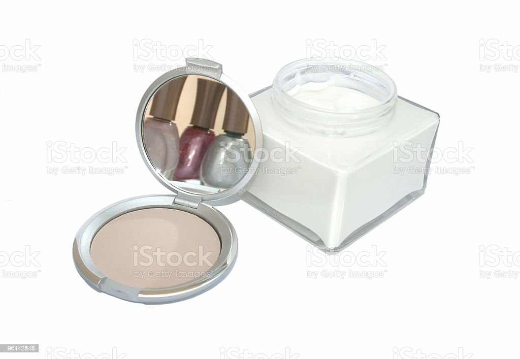 Produtos cosméticos - Foto de stock de Aberto royalty-free