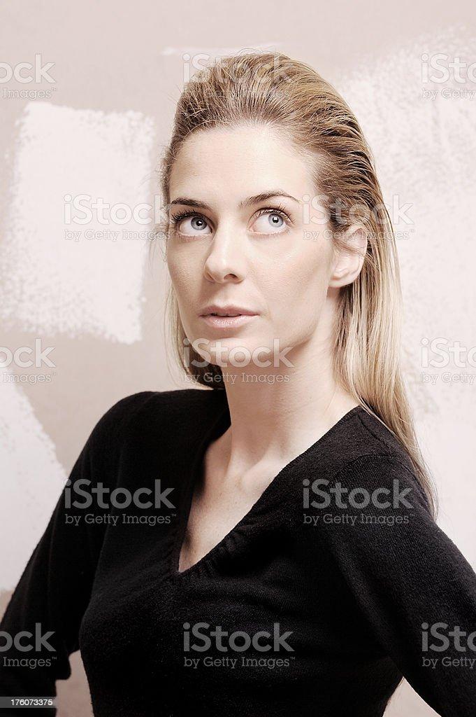 Cosmetics Portrait stock photo