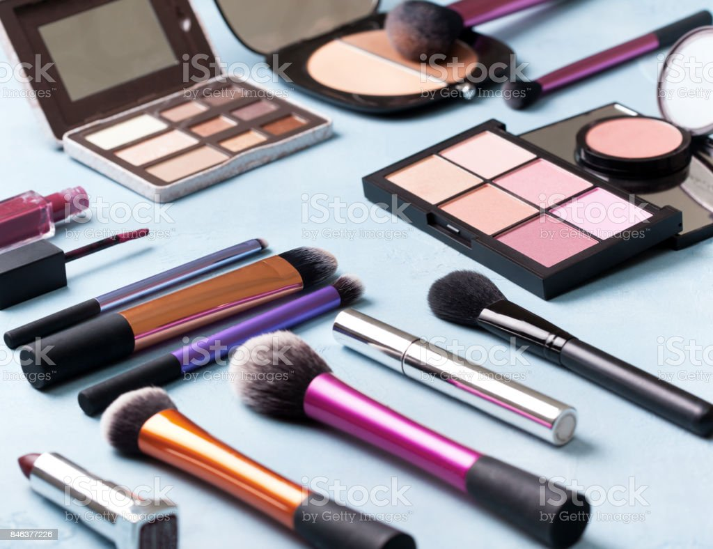 cosmetics product stock photo