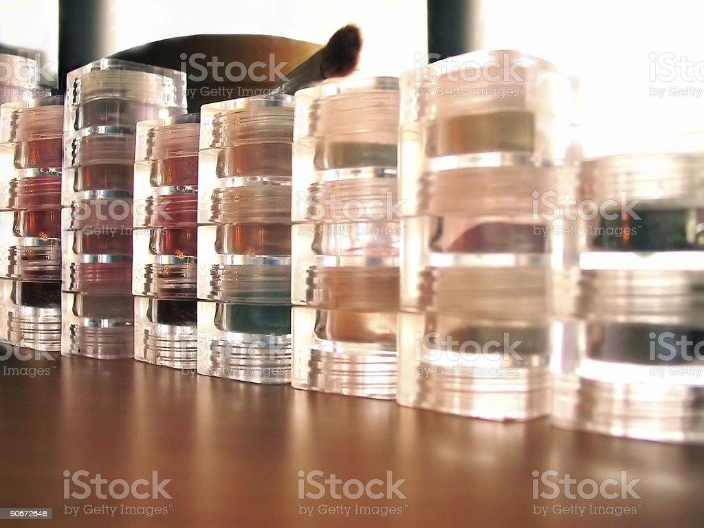 Cosmetics Wall 1 royalty-free stock photo