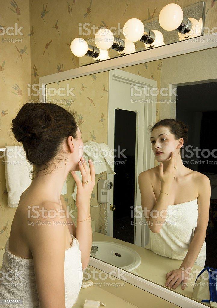 cosmetik mask royalty-free stock photo