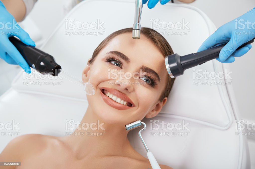 Cosmetological equipment stock photo