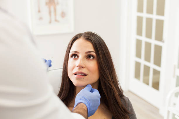 Cosmetologist's Office - Beauty Consultation stock photo