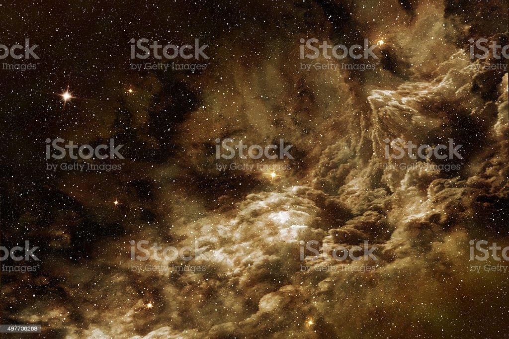 cosmic gas stock photo