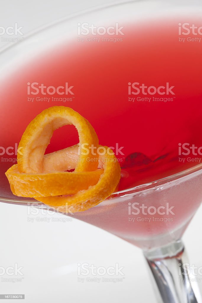 Cosmopolitan Cocktail drink royalty-free stock photo