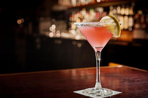 Cosmopolitan Martini Cocktail Drink