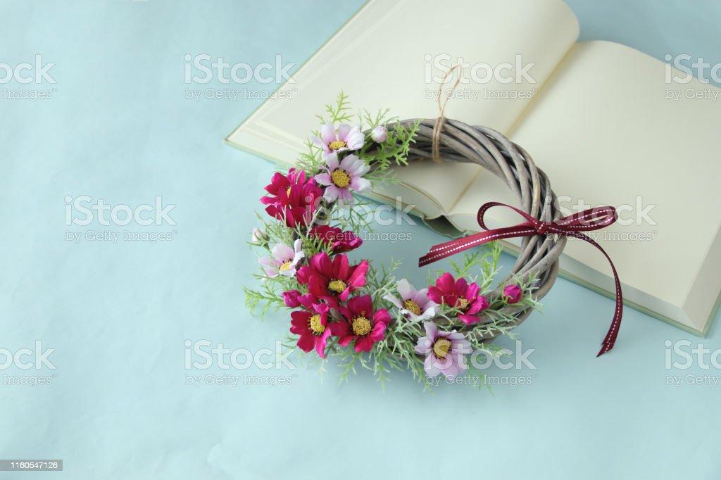 Cosmos flower Wreath