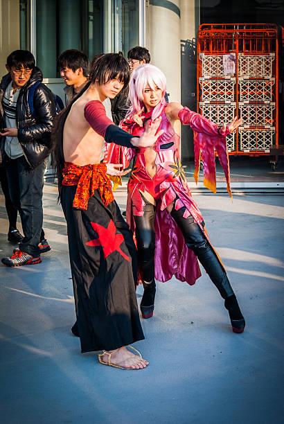 kostümspiel in tokio - tokyo cosplay stock-fotos und bilder