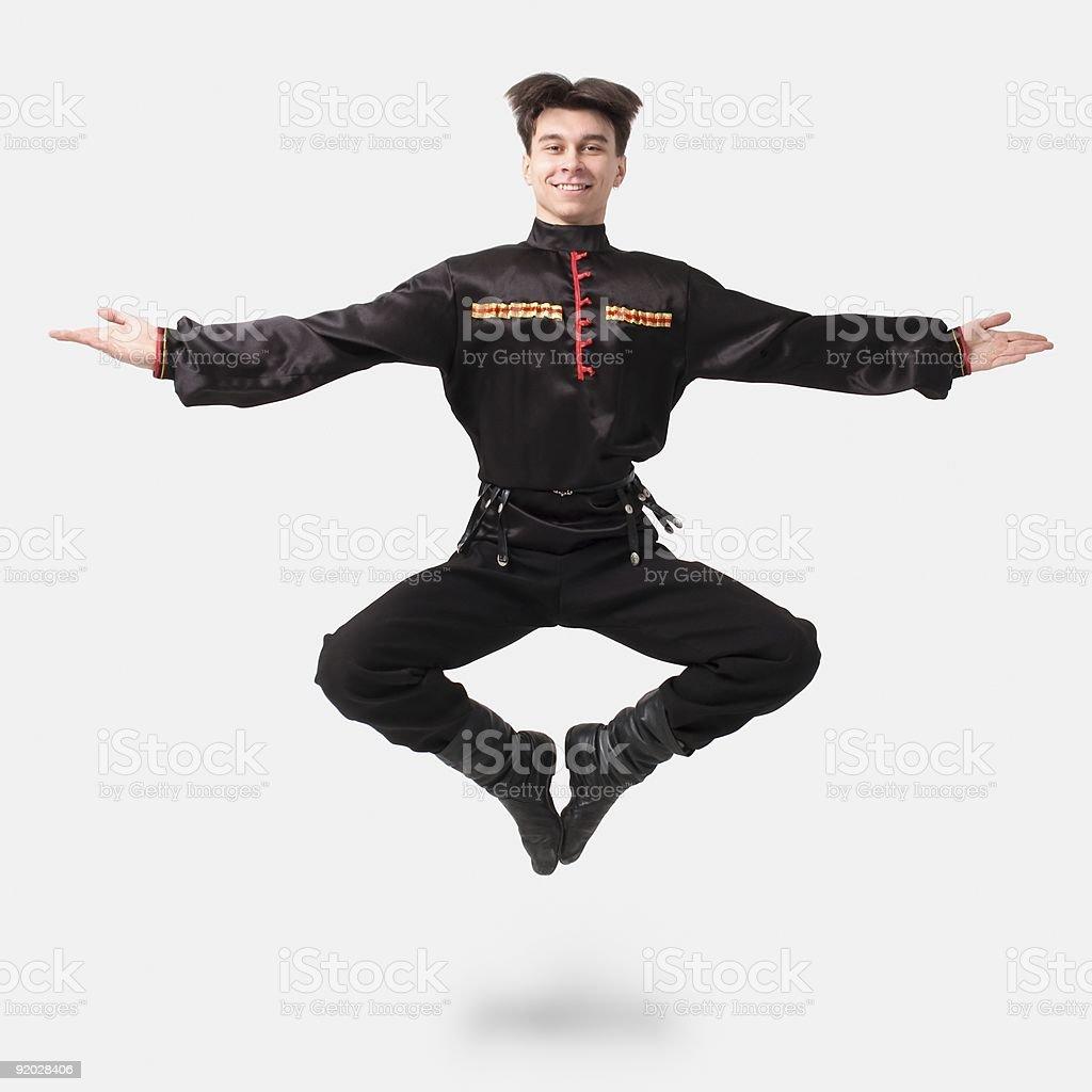 cossack dance royalty-free stock photo