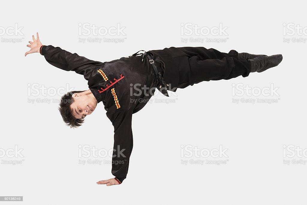 cossack dance stock photo