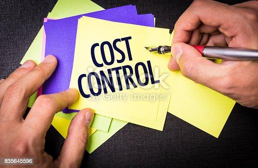 istock Cost Control 835645596