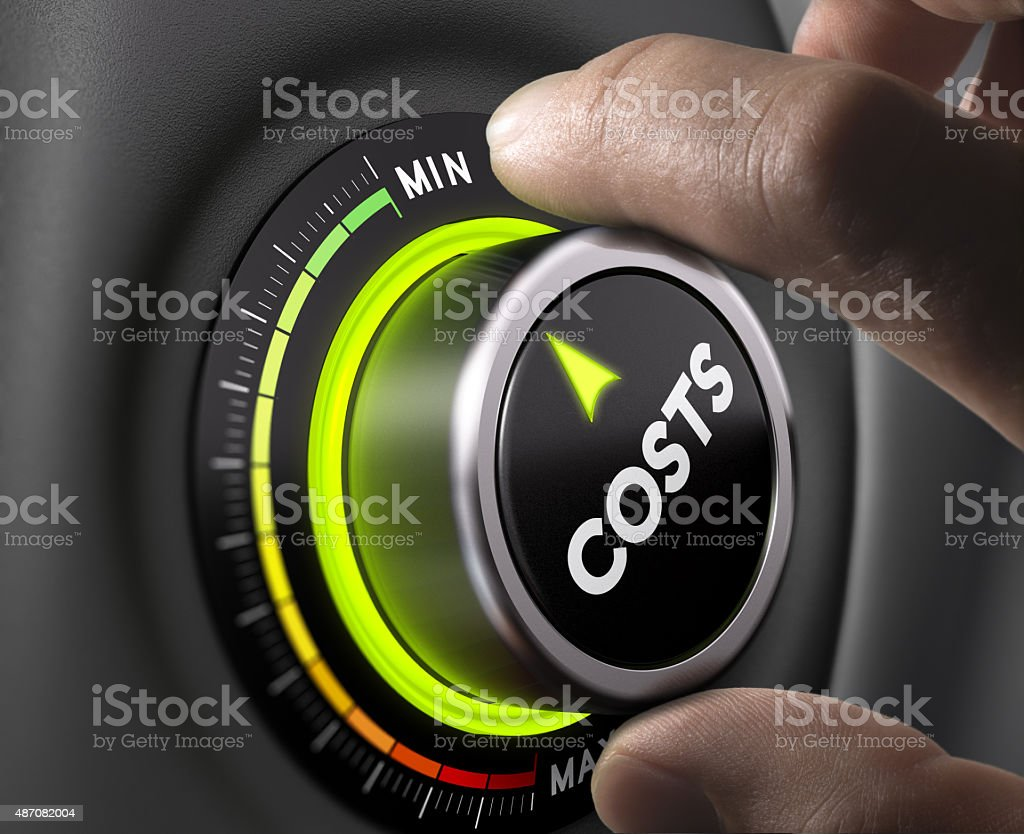 Cost Management royalty-free stock photo