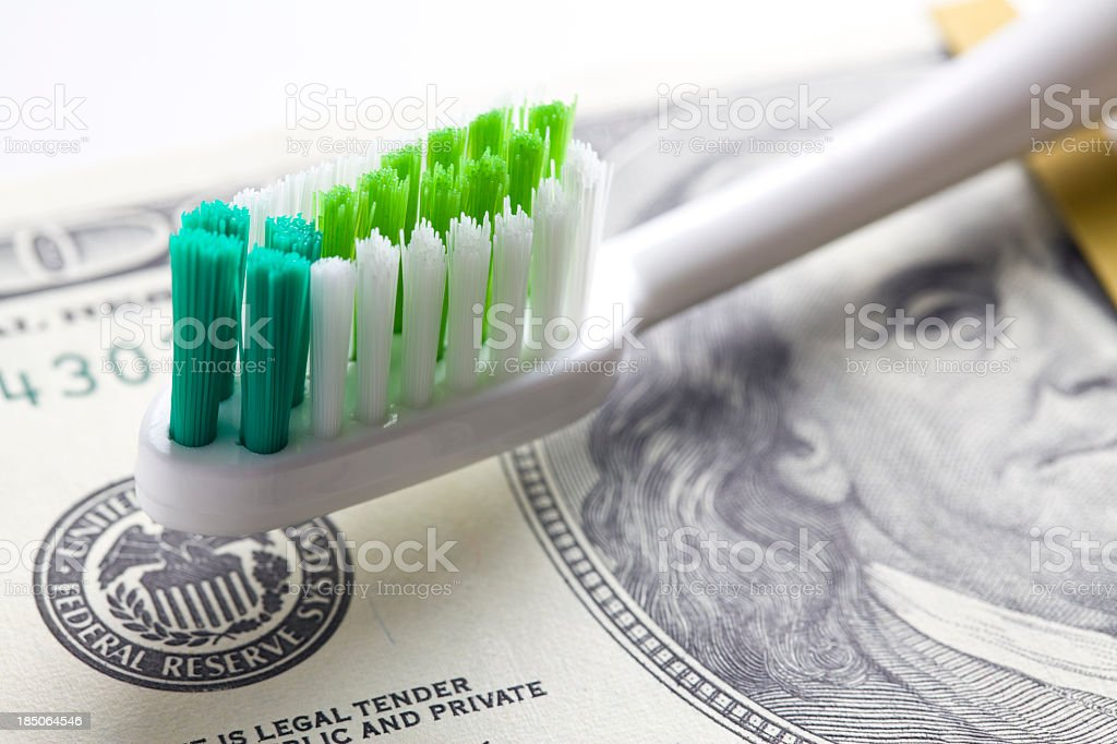 Cost of Dental Work stock photo