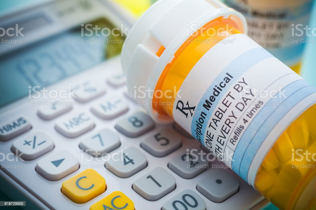 Cost of Healthcare stock photo