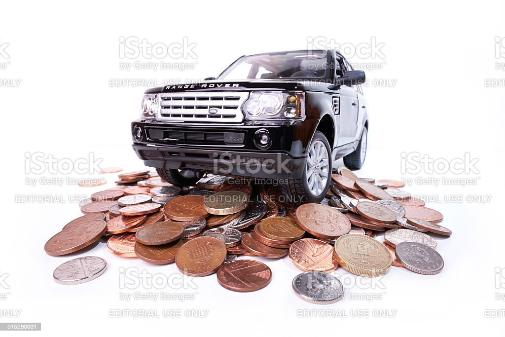 Cost Of Motoring stock photo