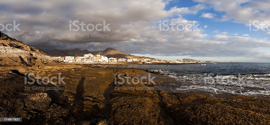 Costa Adeje, Tenerife royalty-free stock photo