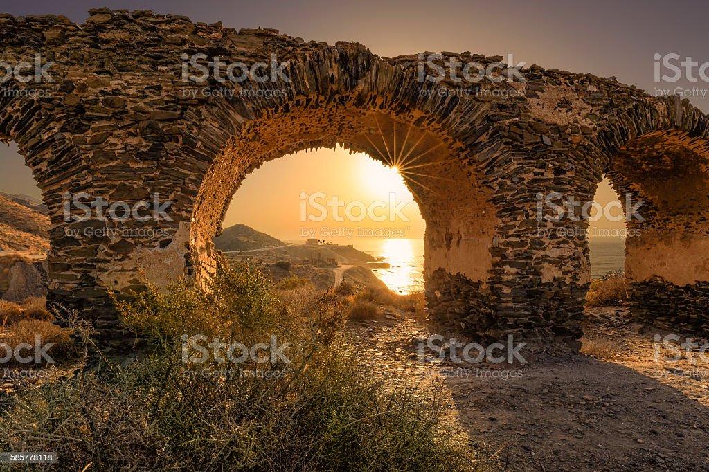 Costa Almeria stock photo