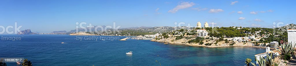 Costa Blanca, Spain stock photo